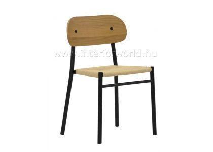 Fa ülőfelületű szék Vendéglátói ülőbútor Interiorworld